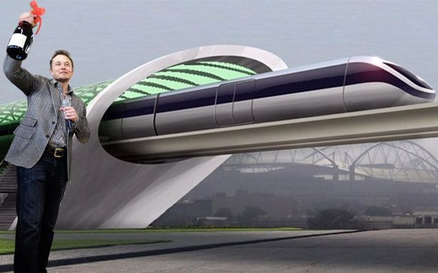 Транспортная система Hyperloop